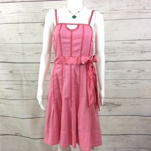 Marc Jacobs Pretty in Pink cotton full lined dress